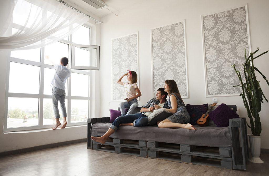 Regelmäßiges Luften kann Schimmelbildung vorbeugen