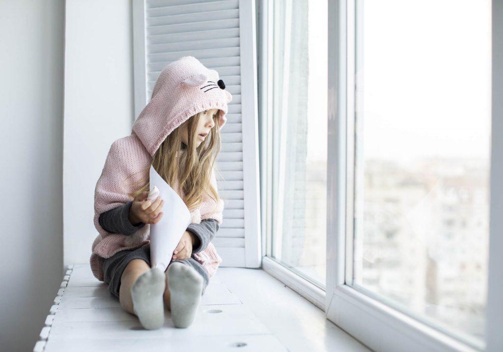 Fenster und sicherheit für Kinder