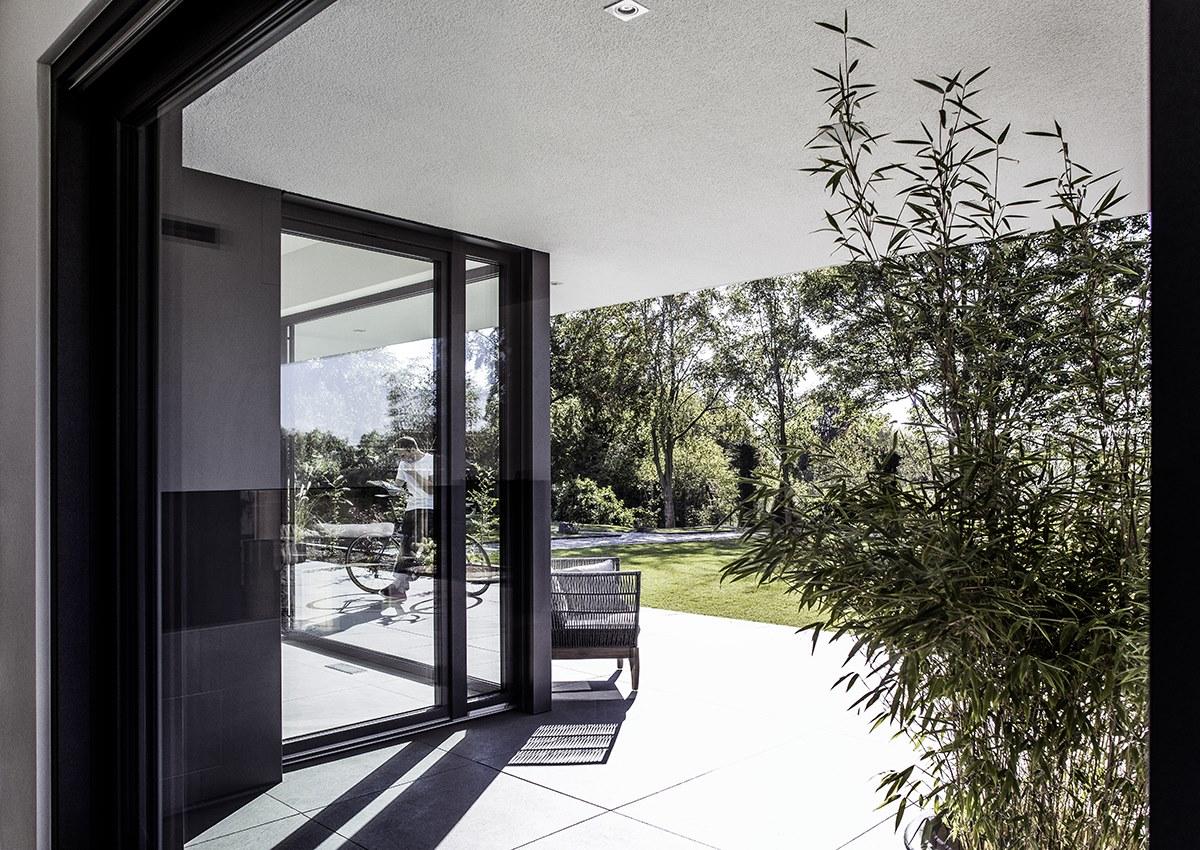 Alu- Kunststofffenster