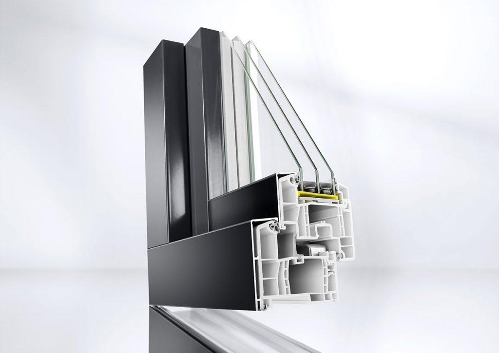 kunststoff-Aluminium Fenster Einbruchschutz